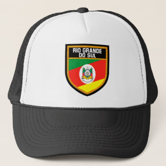 Rio Grande do Sul Flag Trucker Hat