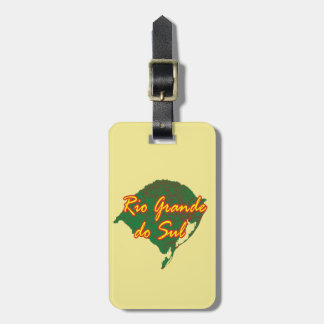Rio Grande do Sul Luggage Tag