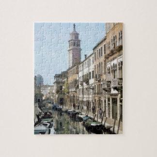Rio Ognissanti, Venice Puzzle