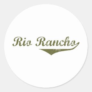 Rio Rancho  Revolution t shirts Classic Round Sticker
