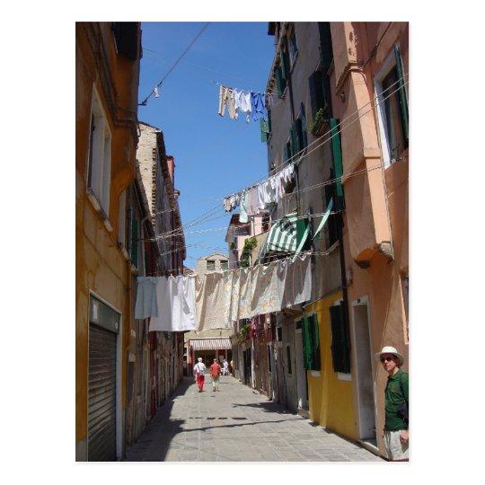 Rio San Guiseppe, Venice 4 Postcard