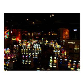 Rio Slot Machines Postcard