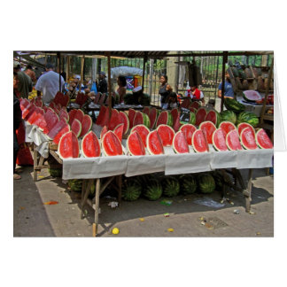Rio Watermelon Stand Card