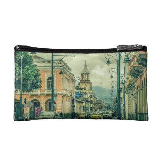 Riobamba Historic Center Urban Scene Makeup Bag