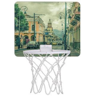 Riobamba Historic Center Urban Scene Mini Basketball Hoop