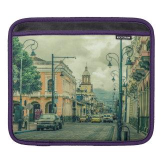 Riobamba Historic Center Urban Scene Sleeve For iPads