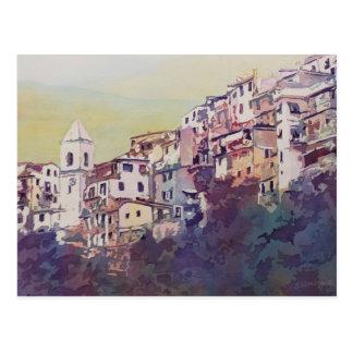 Riomaggiore Hillside Postcard