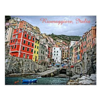 Riomaggiore, Italy - The Cinque Terre Postcard