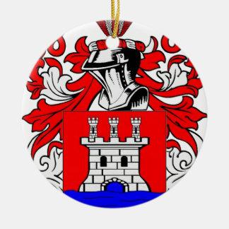 Rios Coat of Arms Ceramic Ornament