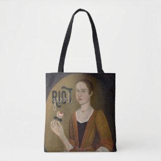 Riot Grrrl Girl Tote Bag