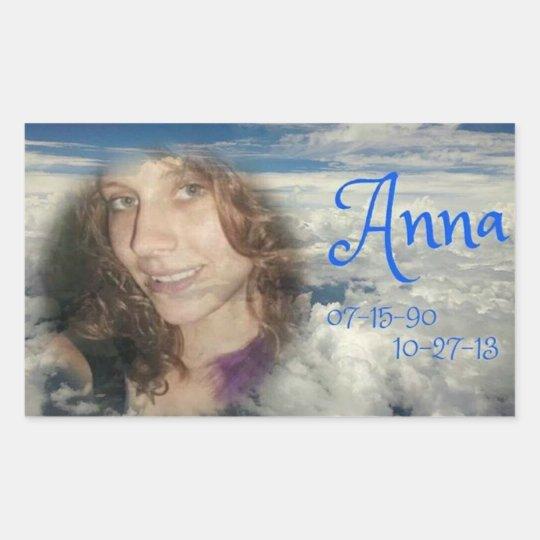 rip ANNA Sticker