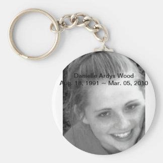 RIP Danielle Ardys Wood Keychain