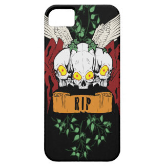 RIP Evil Skulls iPhone 5 Cover
