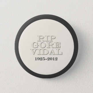RIP Gore Vidal 2 Inch Round Button