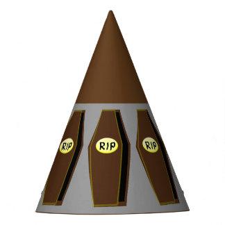RIP Halloween Coffin of Doom Party Hat