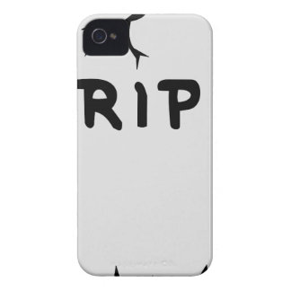 Rip Head stone iPhone 4 Case-Mate Case