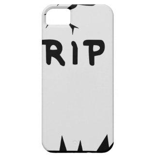 Rip Head stone iPhone 5 Case