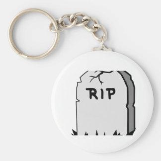 Rip Head stone Keychain