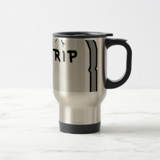 Rip Head stone Travel Mug