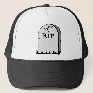 Rip Head stone Trucker Hat