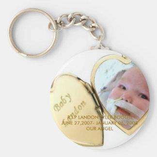 RIP Landon Keychain