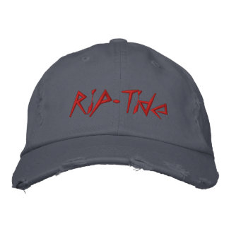 Rip-Tide Embroidered Baseball Caps