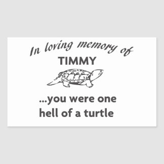 RIP TIMMY STICKER