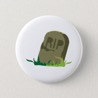 RIP Tombstone 2 Inch Round Button