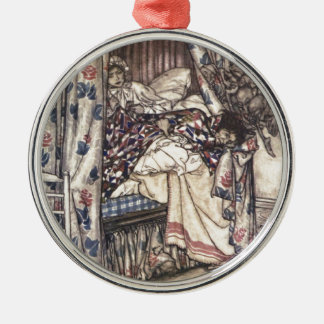 Rip Van Winkle: The Virtues Of Patience Silver-Colored Round Ornament
