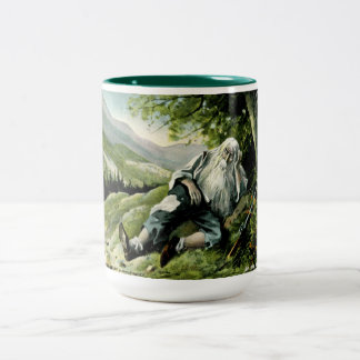Rip Van Winkle Vintage Two-Tone Coffee Mug