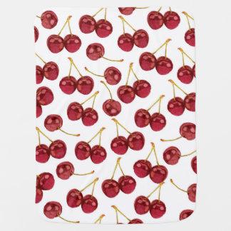 Ripe Cherry Baby Blanket