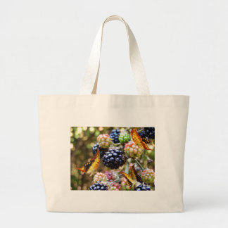 RIPE DELIGHTS LARGE TOTE BAG
