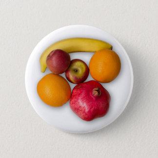 Ripe fruits 2 inch round button