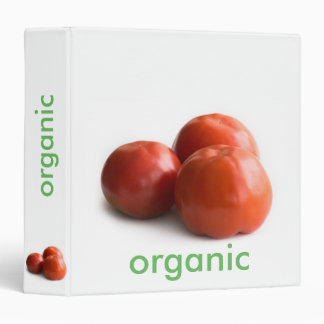 Ripe tomato 3 ring binder
