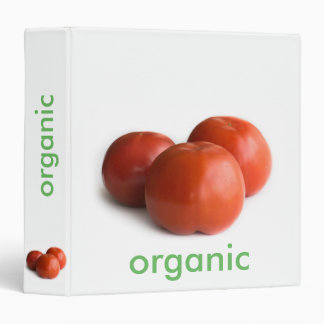 Ripe tomato 3 ring binders