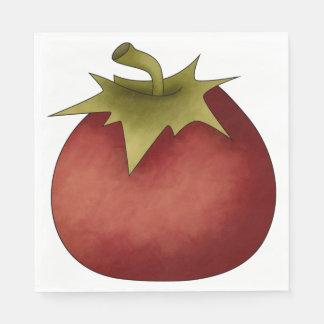 Ripe Tomato Paper Napkins