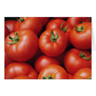 Ripe Tomatoes - Bright Red, Fresh Card
