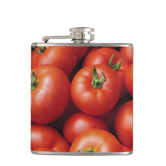 Ripe Tomatoes - Bright Red, Fresh Hip Flask