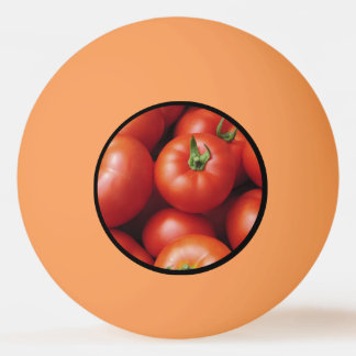 Ripe Tomatoes - Bright Red, Fresh Ping Pong Ball