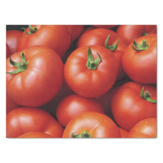 Ripe Tomatoes - Bright Red, Fresh Tissue Paper