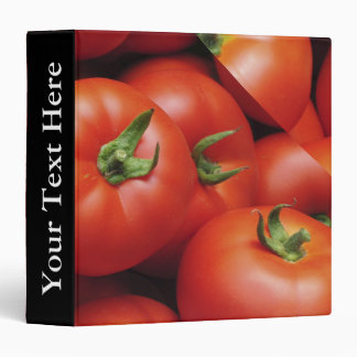Ripe Tomatoes - Bright Red, Fresh Vinyl Binder
