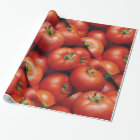 Ripe Tomatoes - Bright Red, Fresh Wrapping Paper