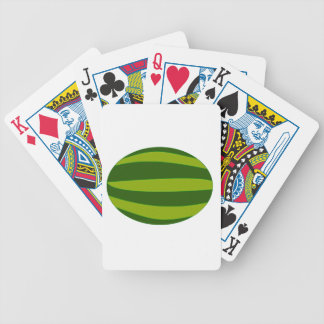 Ripe Watermelon Bicycle Playing Cards
