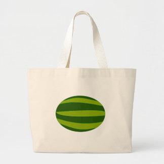 Ripe Watermelon Large Tote Bag