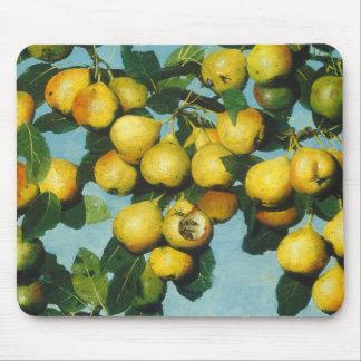 Ripening Bartlett Pears by Joseph Decker Mouse Pad