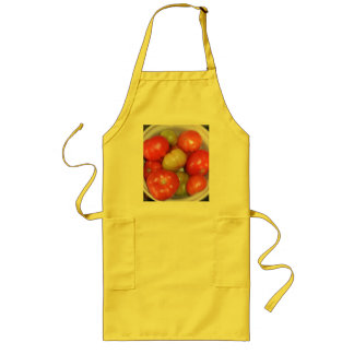 Ripening Tomatoes Apron - Gold