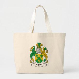 Ripley Family Crest Jumbo Tote Bag