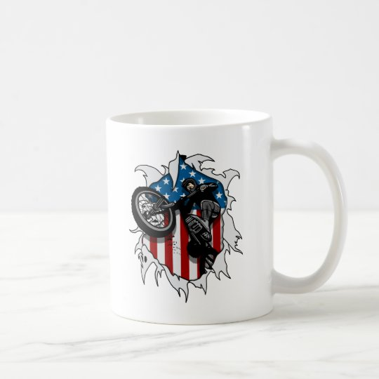 Ripped BMX Bicycle Coffee Mug