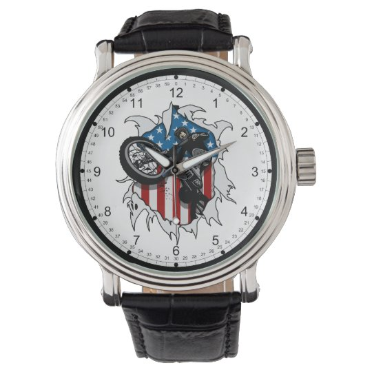 Ripped BMX Bicycle Watch