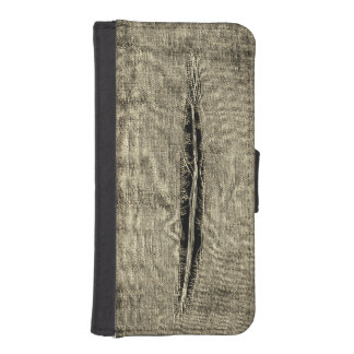 Ripped Fabric iPhone SE/5/5s Wallet Case